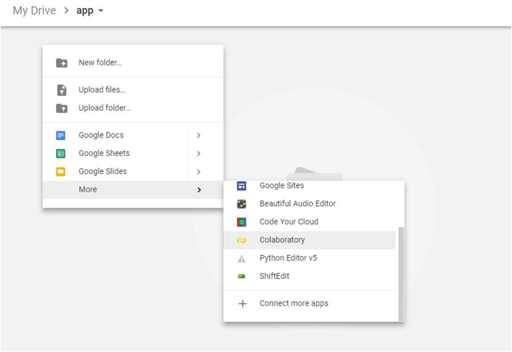 steps to install google colaboratory