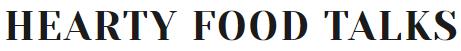 Hearty Food Talks Logo