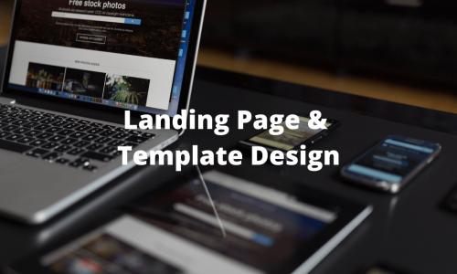 Landing page & template design (1)